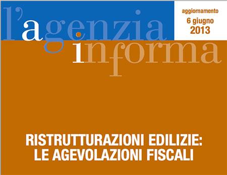 Edilizia detrazioni fiscali 2013 per ristrutturazioni emmetre - Guida fiscale ristrutturazione ...